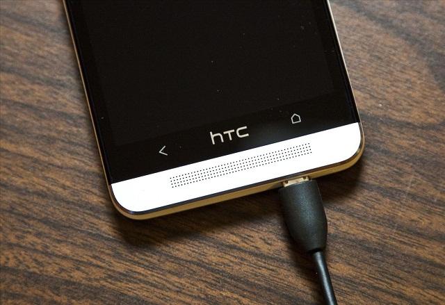 Điện thoại HTC không sạc được khiến mọi hoạt động của máy đều gián đoạn