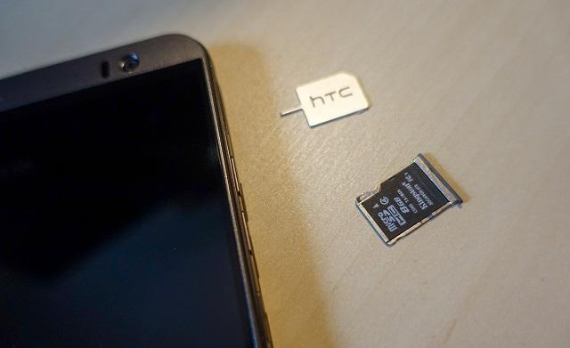 Điện thoại HTC không nhận thẻ nhớ sẽ làm dung lượng bộ nhớ bị hạn chế