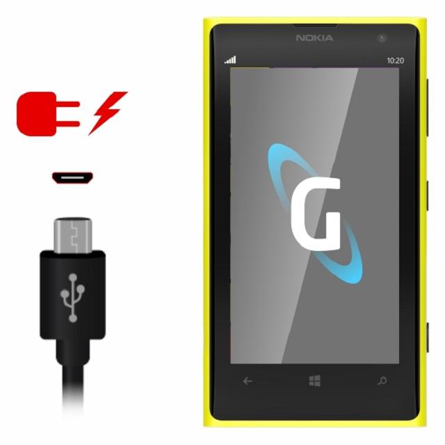 Điện thoại Nokia hư sạc khiến máy không được tiếp thêm năng lượng pin để hoạt động