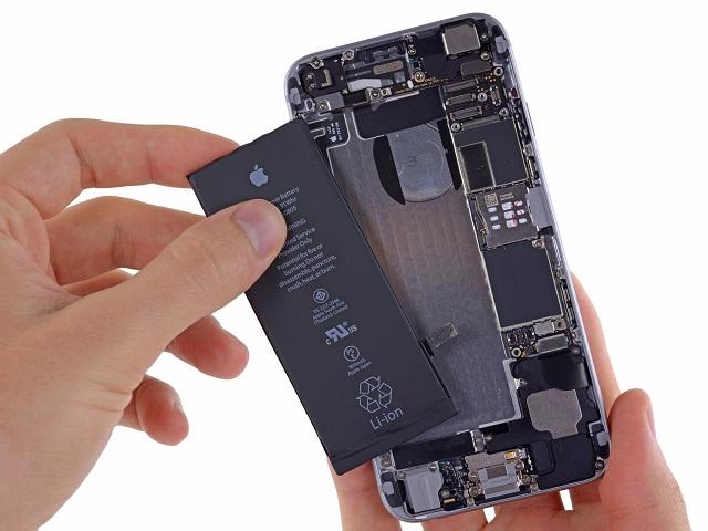 Pin iPhone 6 cũng sẽ có lúc hư hỏng cần thay thế