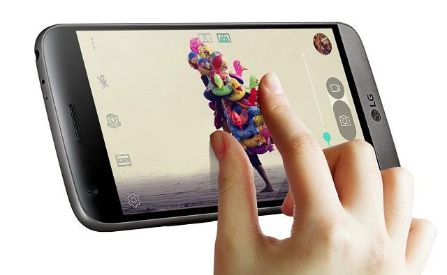 Tính năng cảm ứng giúp chúng ta điều khiển mọi hoạt động trên điện thoại LG