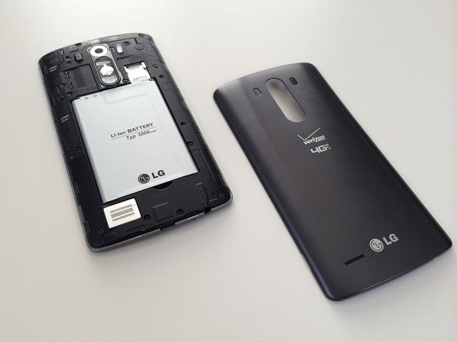 Pin bị hư cũng khiến điện thoại LG tắt nguồn giữa chừng