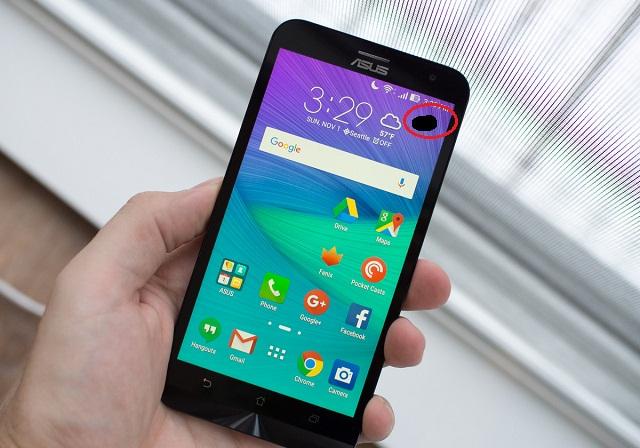 Zenfone hư màn hình có đốm đen