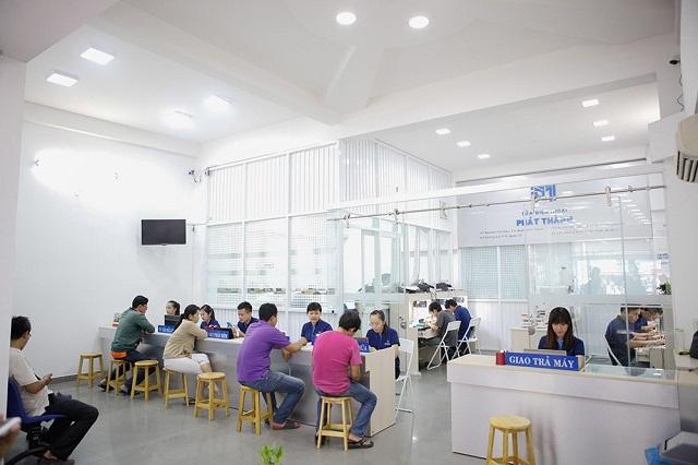 Khu vực tư vấn khách hàng sửa chữa tại Phát Thành hoạt động từ 2006