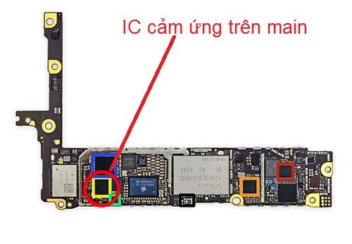 ic cảm ứng trên bo mạch chủ iphone 6 plus