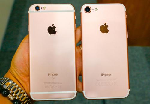 thay độ vỏ iphone 6 6s thành iphone 7