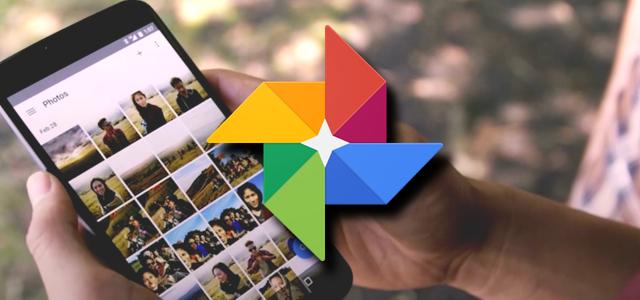 Google Photos sẽ lưu trữ hình ảnh, giúp smartphone tiết kiệm bộ nhớ