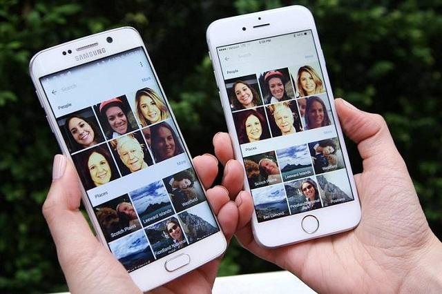 Việc phân chia các mục giúp người dùng dễ tìm kiếm ảnh là một trong những ưu điểm của Google Photos