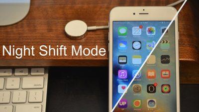 Chế độ đọc ban đêm Night Shift trên iPhone giúp bảo vệ mắt của người dùng trong điều kiện ánh sáng kém