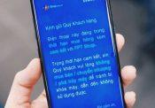 Thông báo khóa Knox từ FPT shop với Samsung S8
